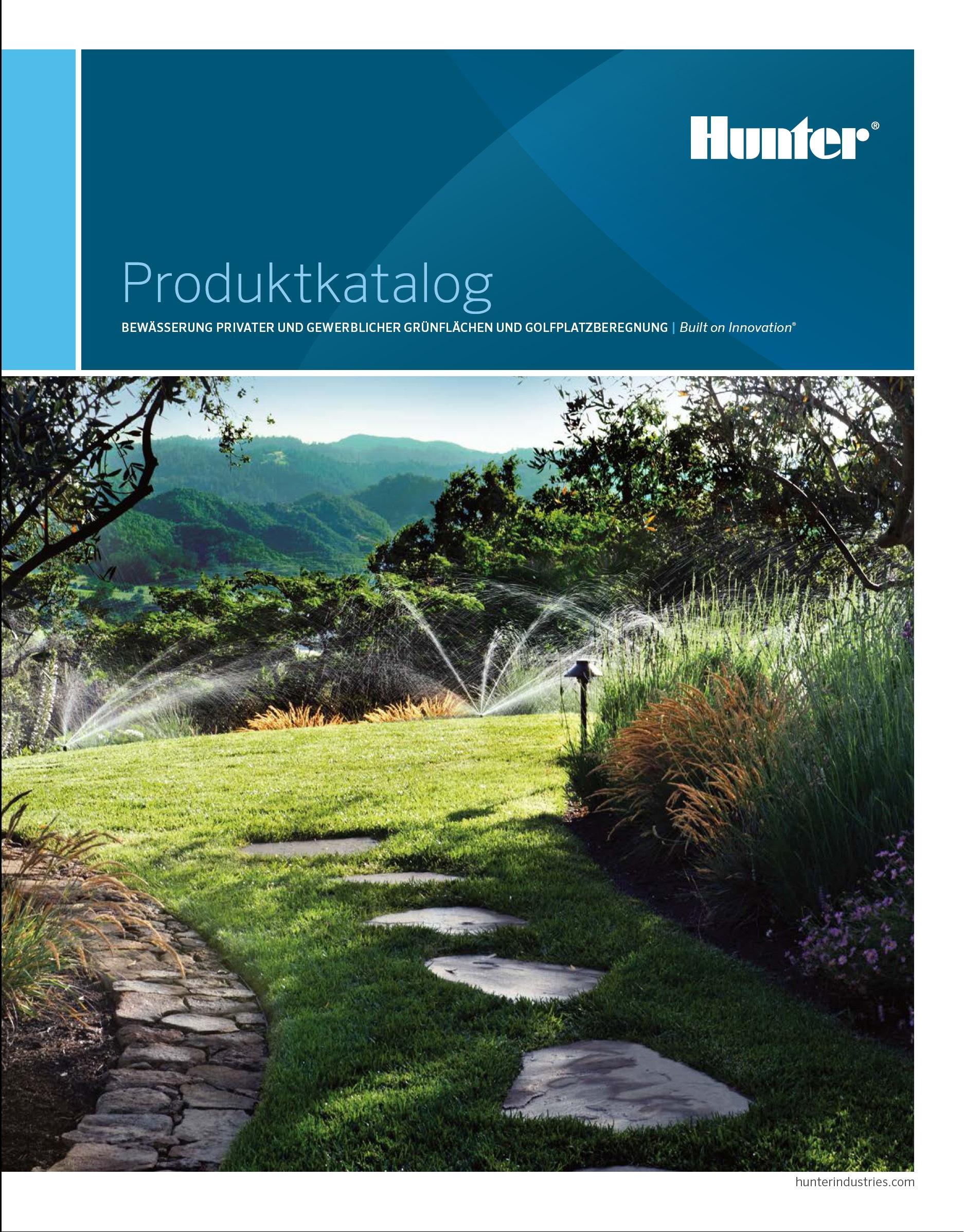Hunter Katalog 2014 Bewässerung
